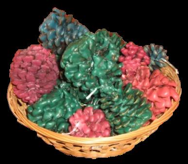 Basket of fire starters